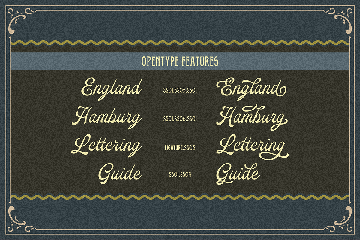 Oldy Beany Font Duo with Extras example image 6