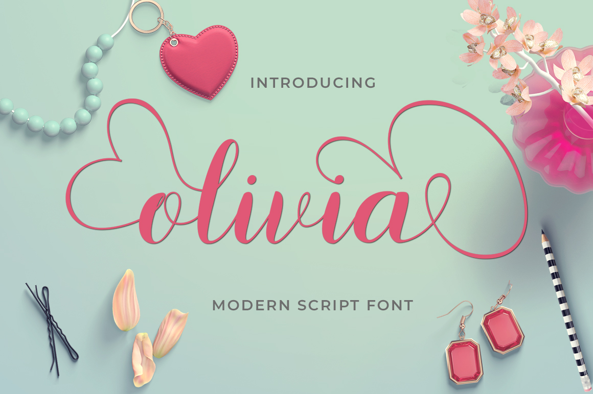 Modern Script Font Bundle example image 15