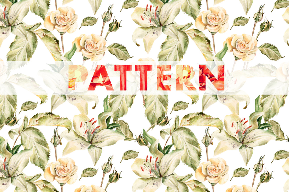 8 bright watercolor patterns example image 7