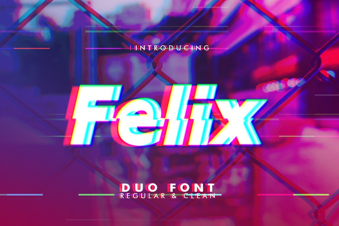 Felix Duo Font example image 1