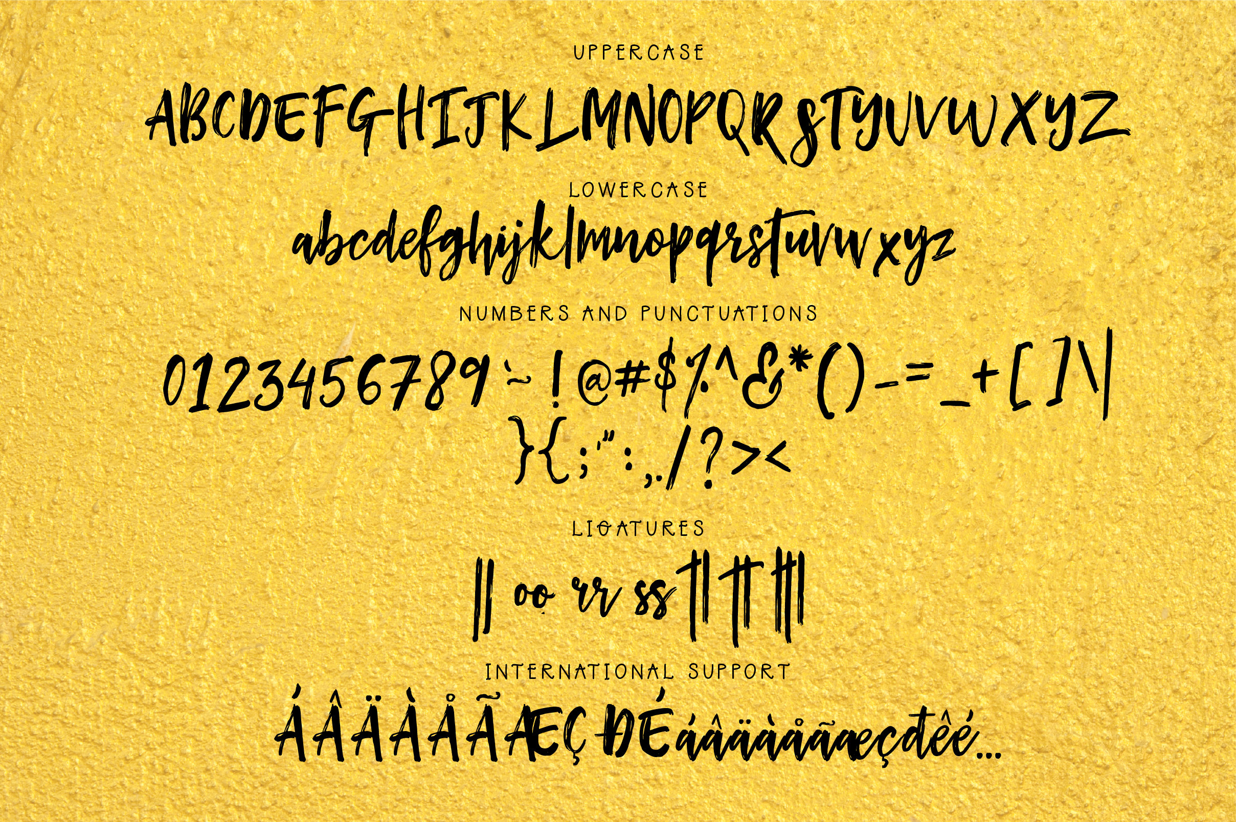 Hey Buttercup! Font  Extras example image 6
