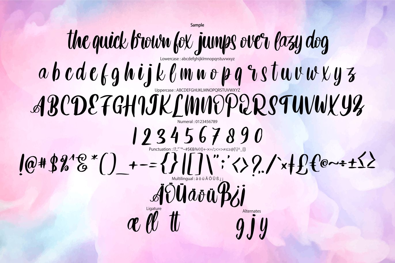 Betnefie | Modern Fashion Style Font example image 6
