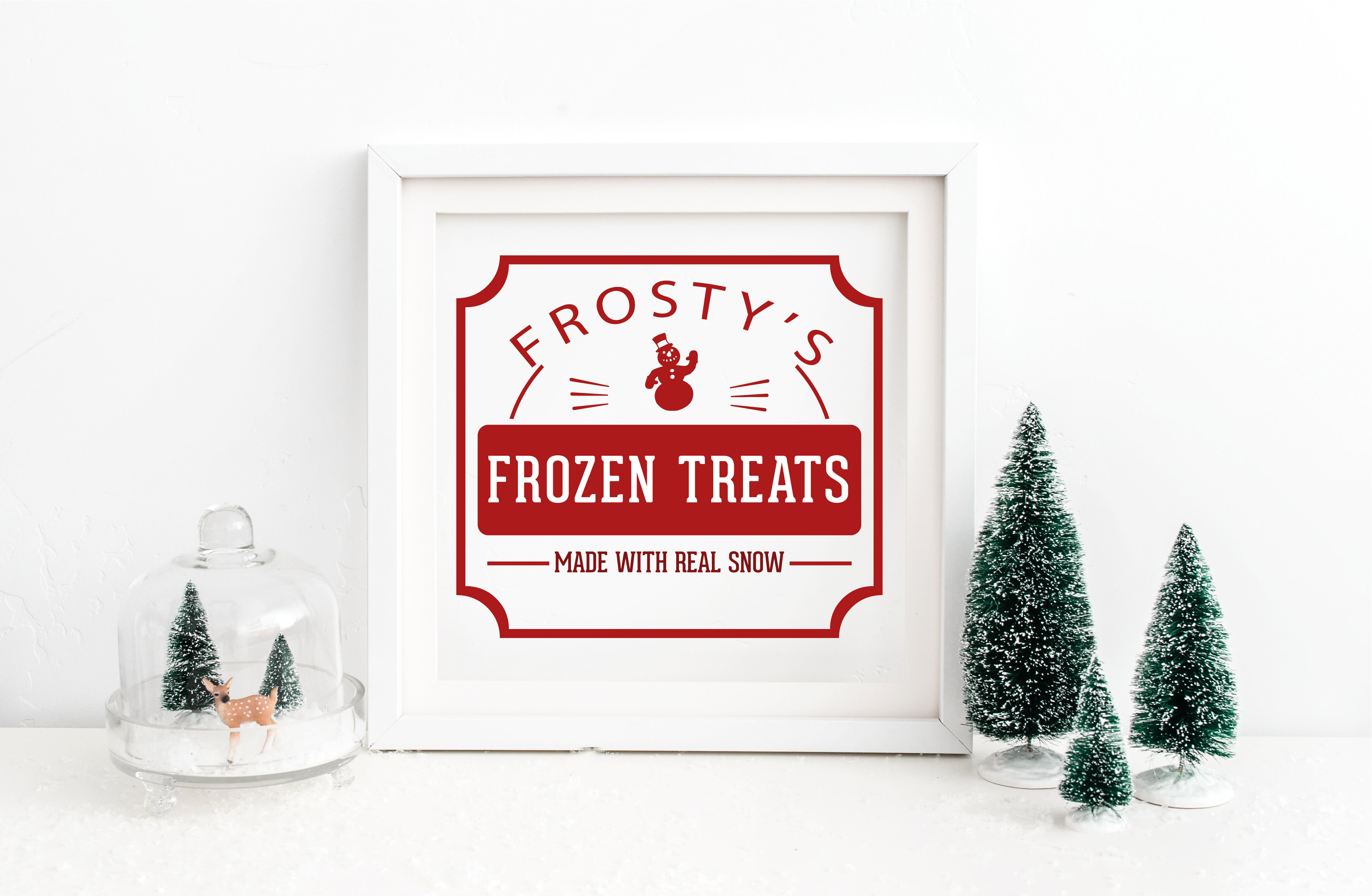 Frosty's Frozen Treats SVG example image 1