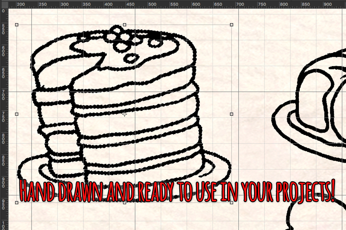 68 Sweets, Cakes and Desserts Graphic Vector Sketch example image 3