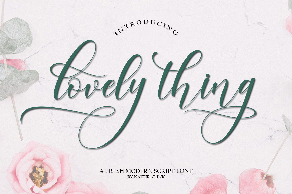 Lovely thing Font Bundles example image 5