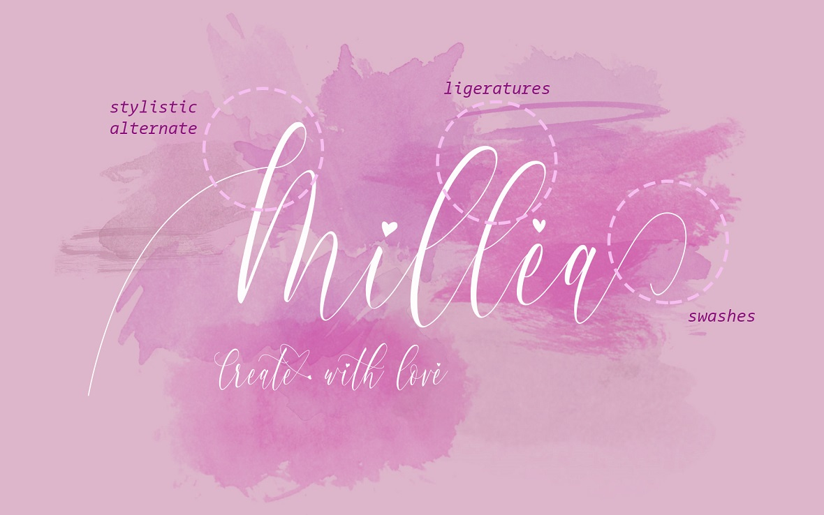 Charlotte Calligraphy Font example image 12