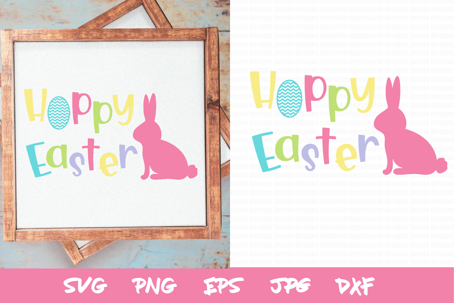 Easter SVG, Spring SVG, Easter Sublimation, bunny svg example image 1
