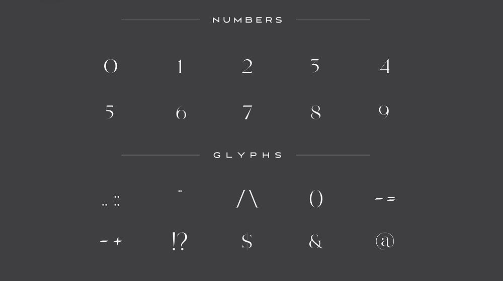Lorimdale font example image 4