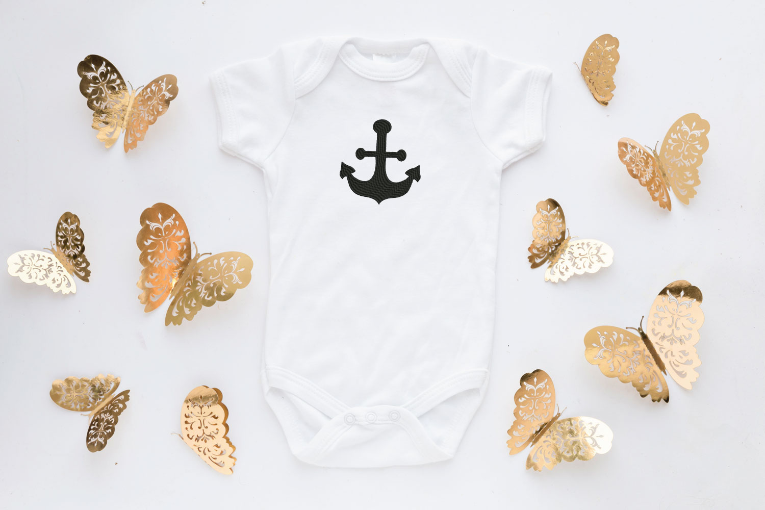 Anchor Embroidery Design, Anchor Embroidery Pattern example image 3