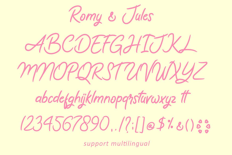 Romy & Jules example image 8