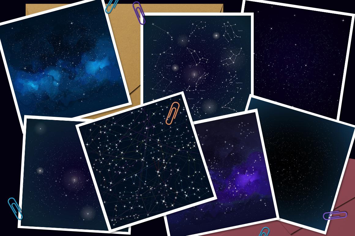 Cosmos vector set example image 8