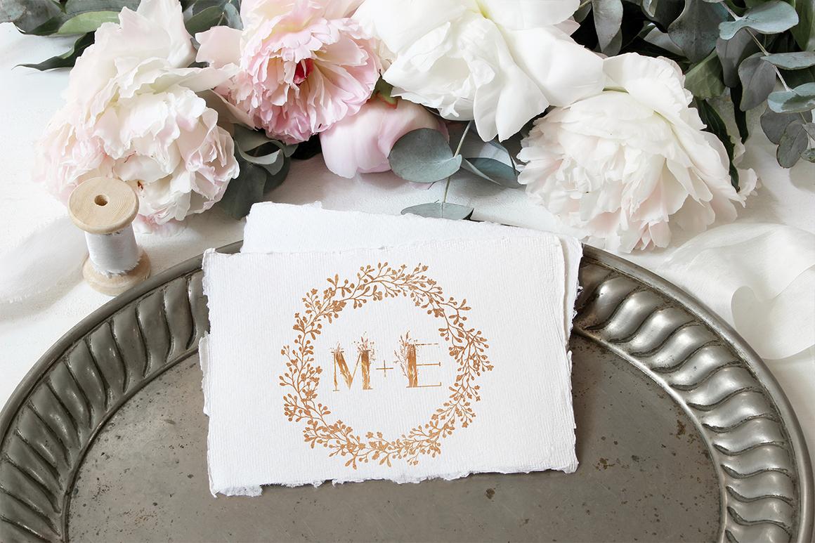 ROSE GOLD WEDDING SET example image 9