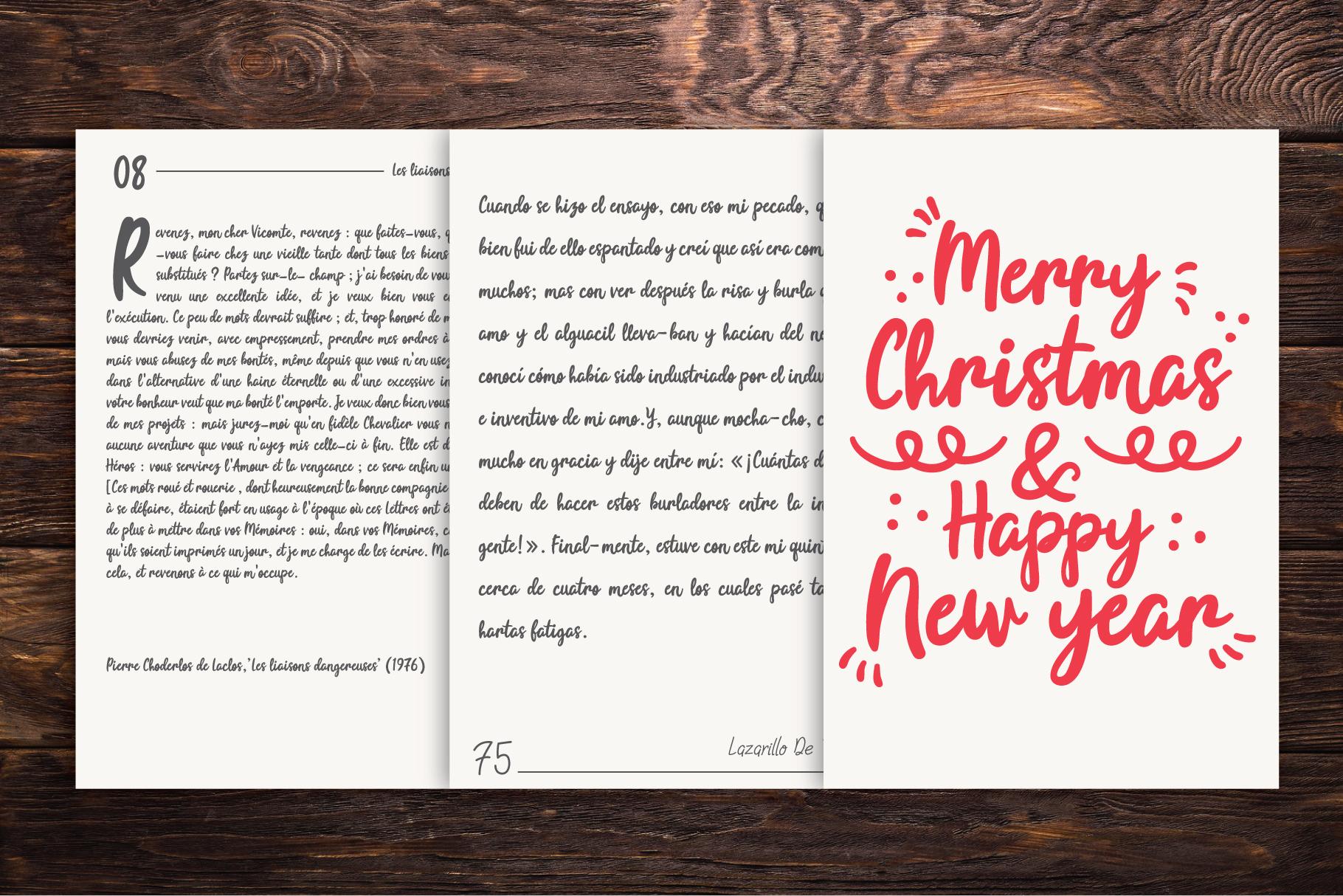 Joyfulness Script Font with Extras example image 10