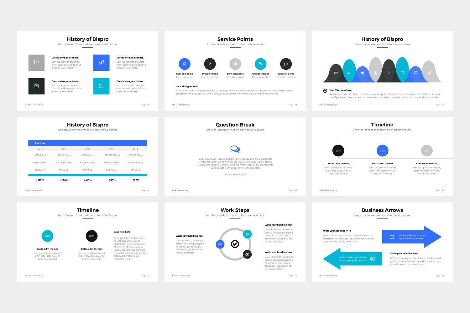 BizPro | Proposal Powerpoint Template example image 10