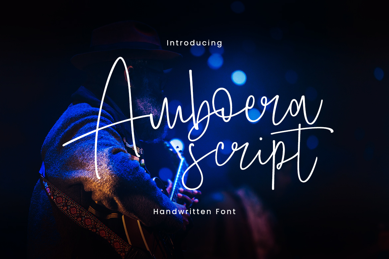 Amboera Script example image 1