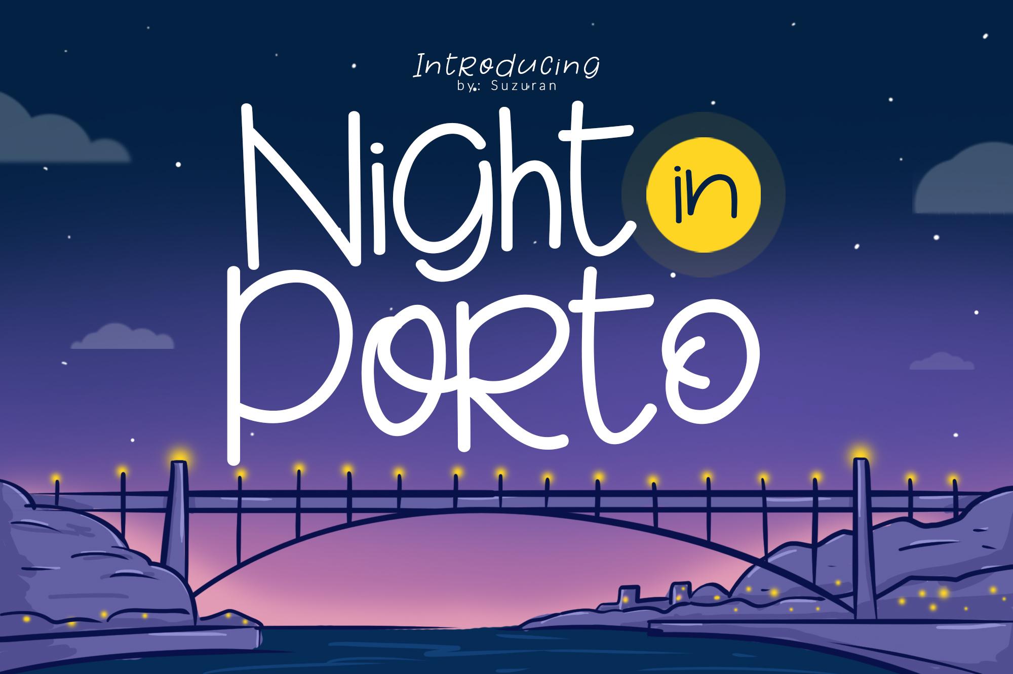 Night in Porto example image 1