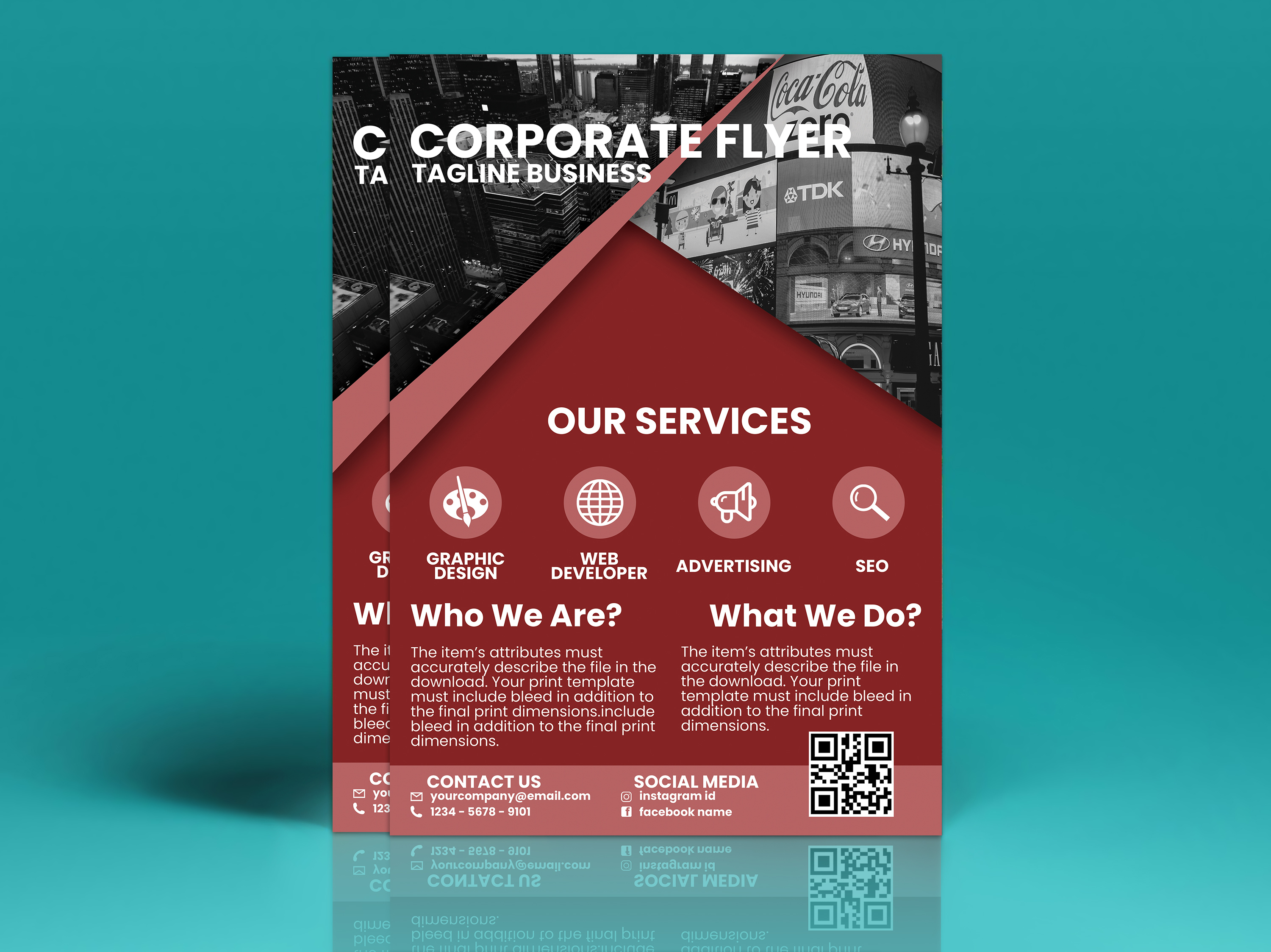 Corporate Flyer Vol. 3 example image 3
