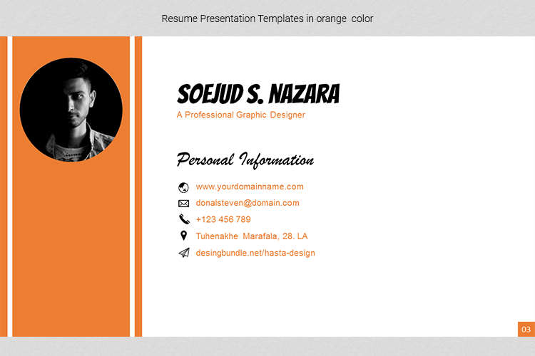 A4 Resume Templates Word example image 11