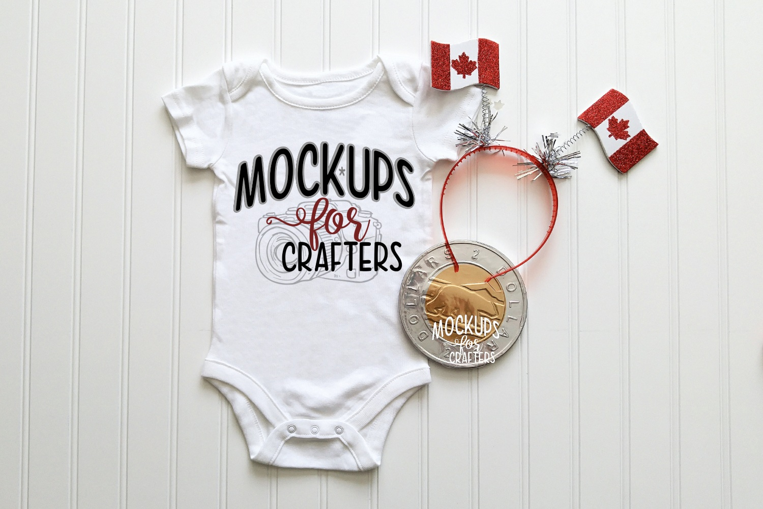 MOCK-UP BUNDLE CANADIAN THEME - BABY BODYSUITS, T-SHIRTS example image 5