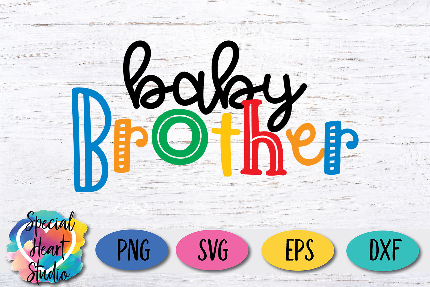 Baby Brother - A family and sibling SVG example image 2