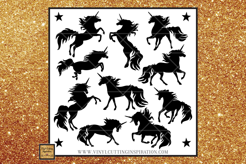 Unicorn Svg SVG Bundle Magical Unicorn Bundle Svg DXF example image 1