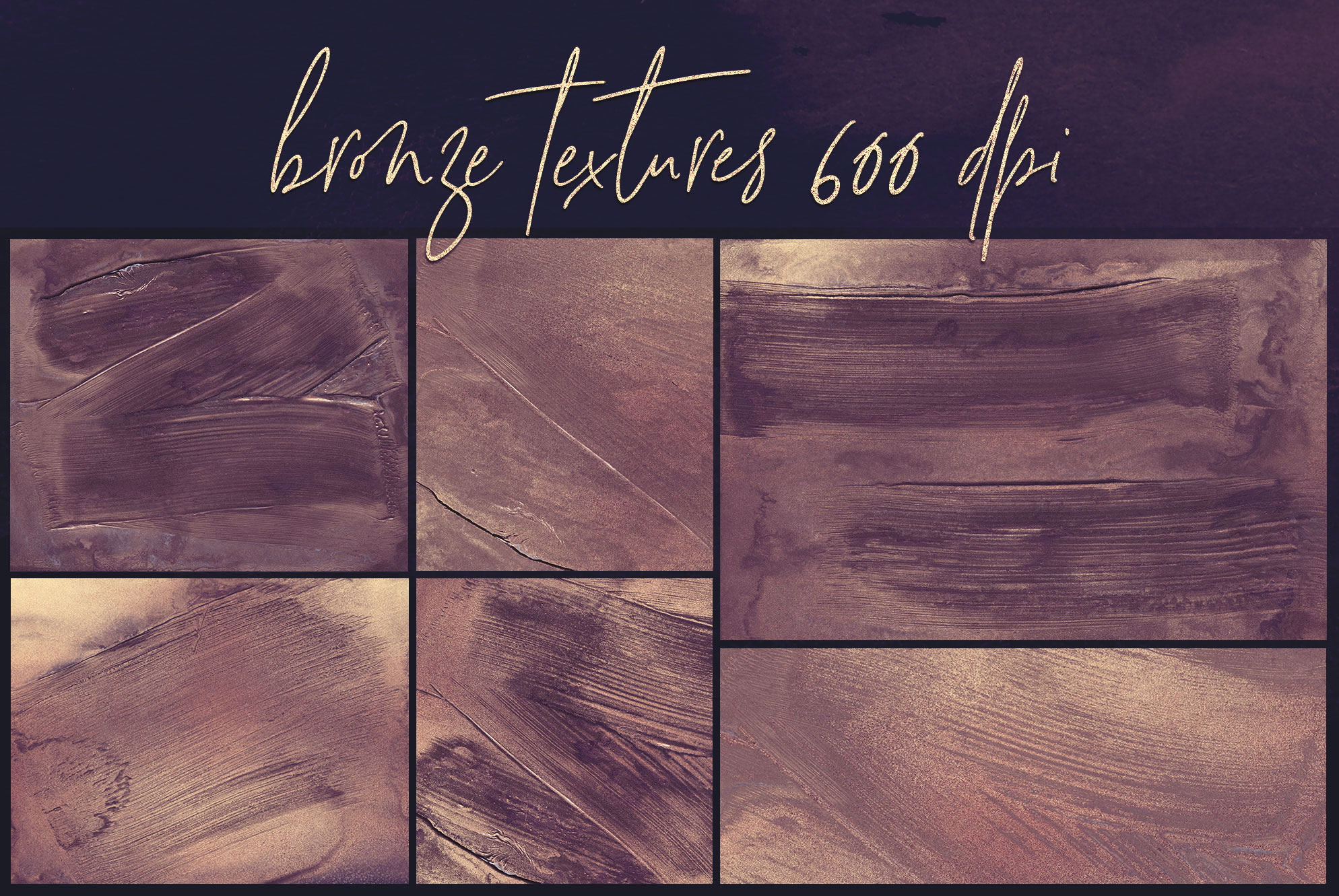 Oil Paint and Marble Textures BUNDLE example image 9