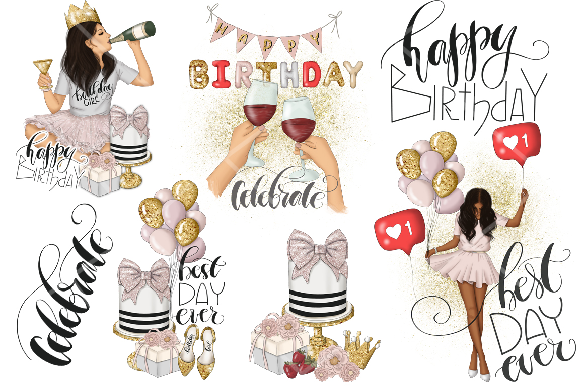 Best Day Ever Clipart Graphic Design example image 3