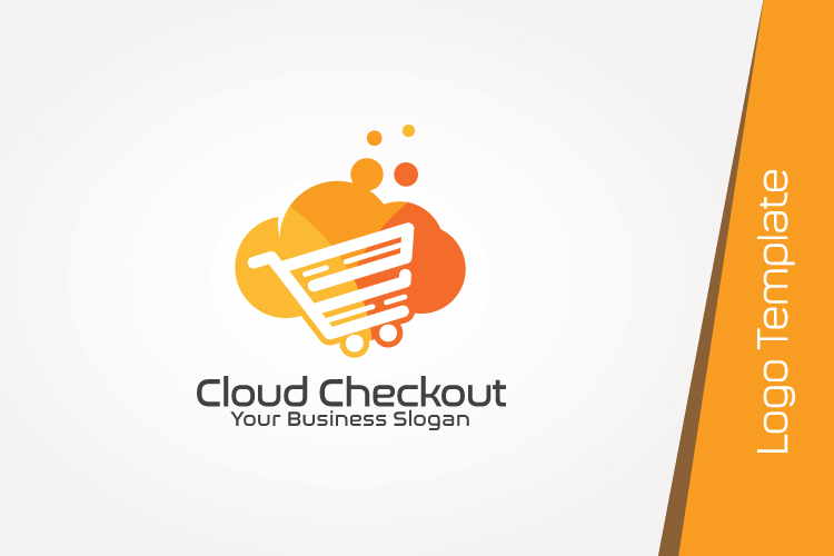 Cloud Computing Logo Template example image 4
