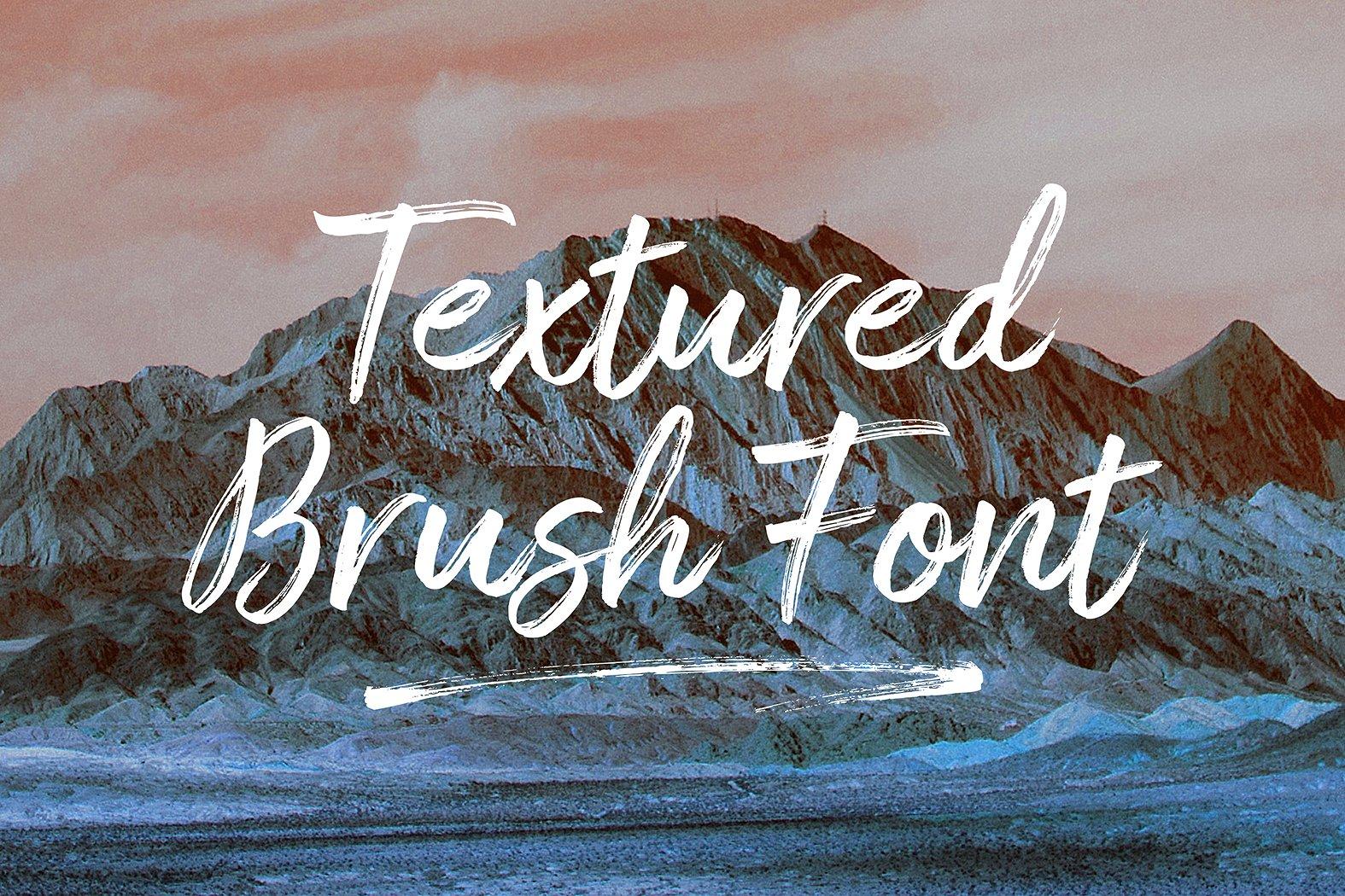 Amithen Brush Font example image 8