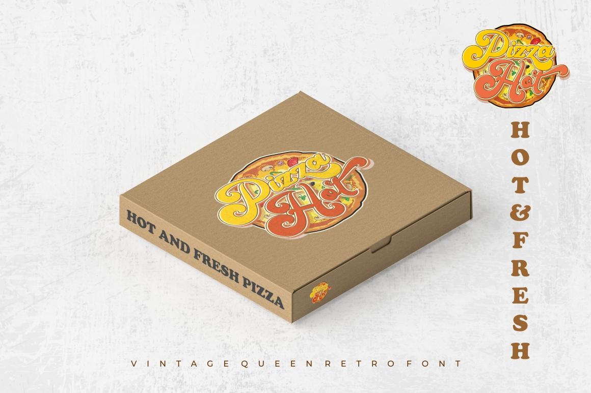 Vintage Queens - Retro Bold Script example image 10