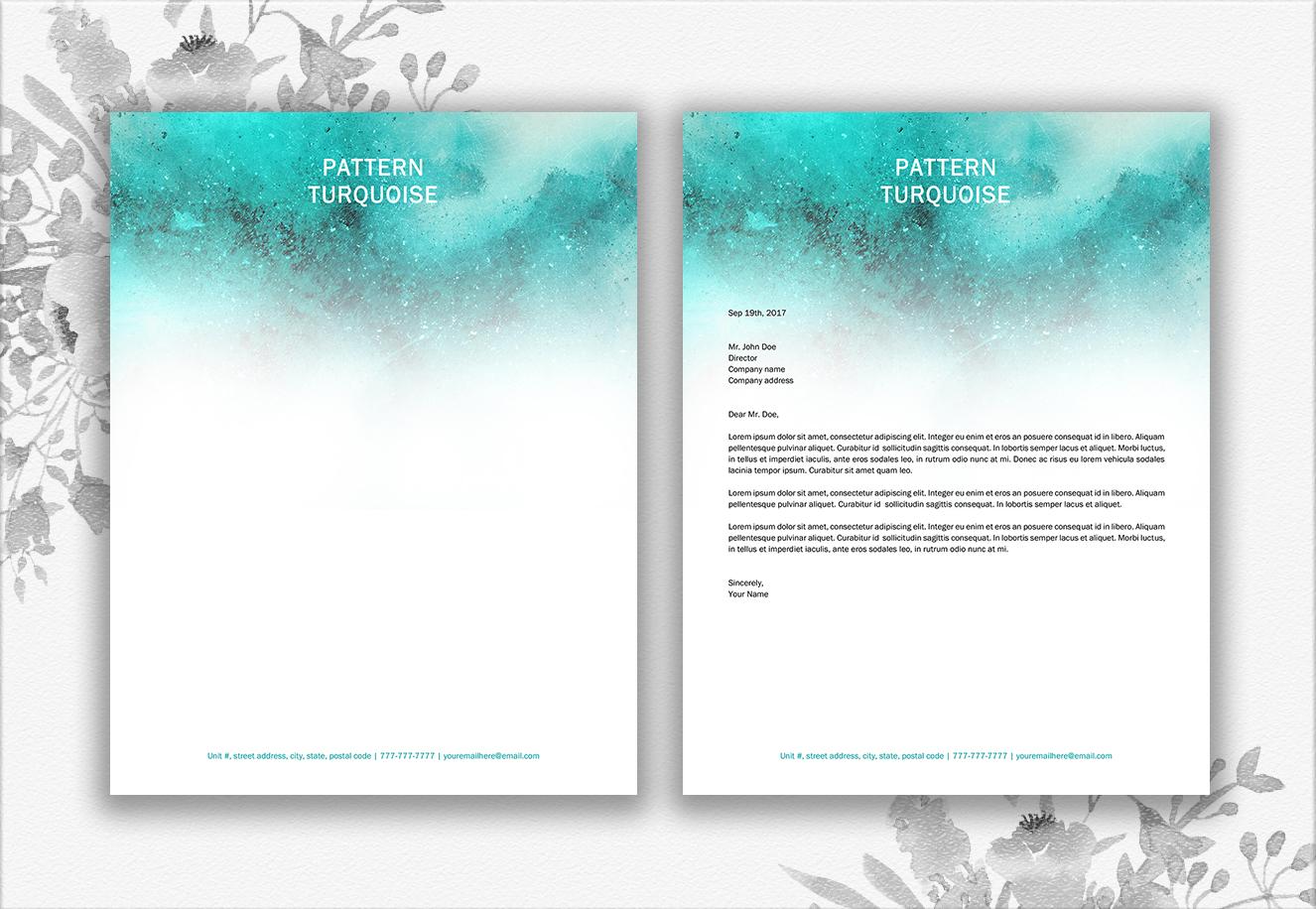 Letterhead Design Template example image 3