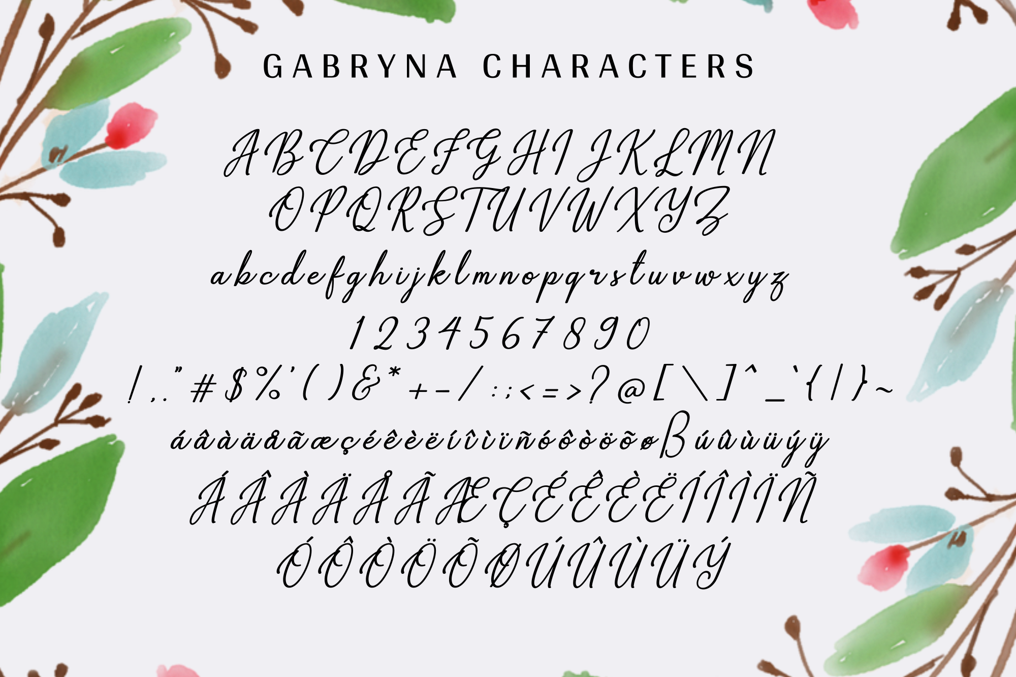 Gabryna Font example image 11