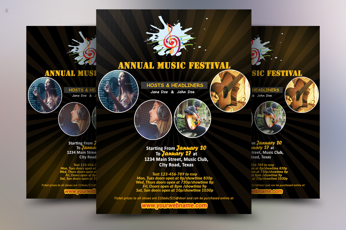 Music Flyer example image 3