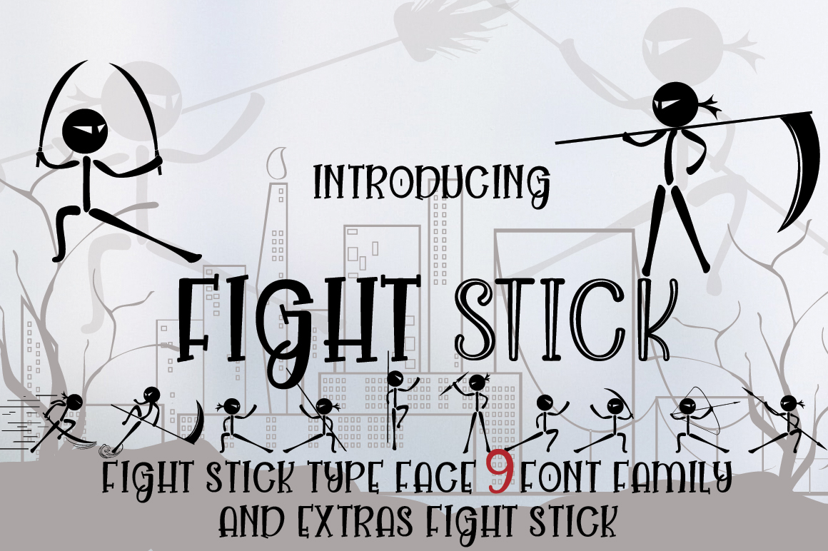 FIGHT STICK example image 1