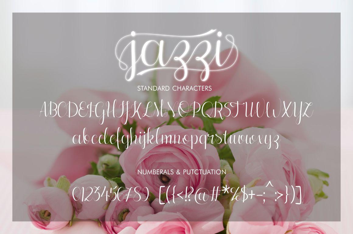 Jazzi Script example image 4