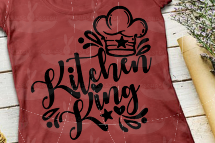 File Kitchen King SVG EPS PDF example image 3