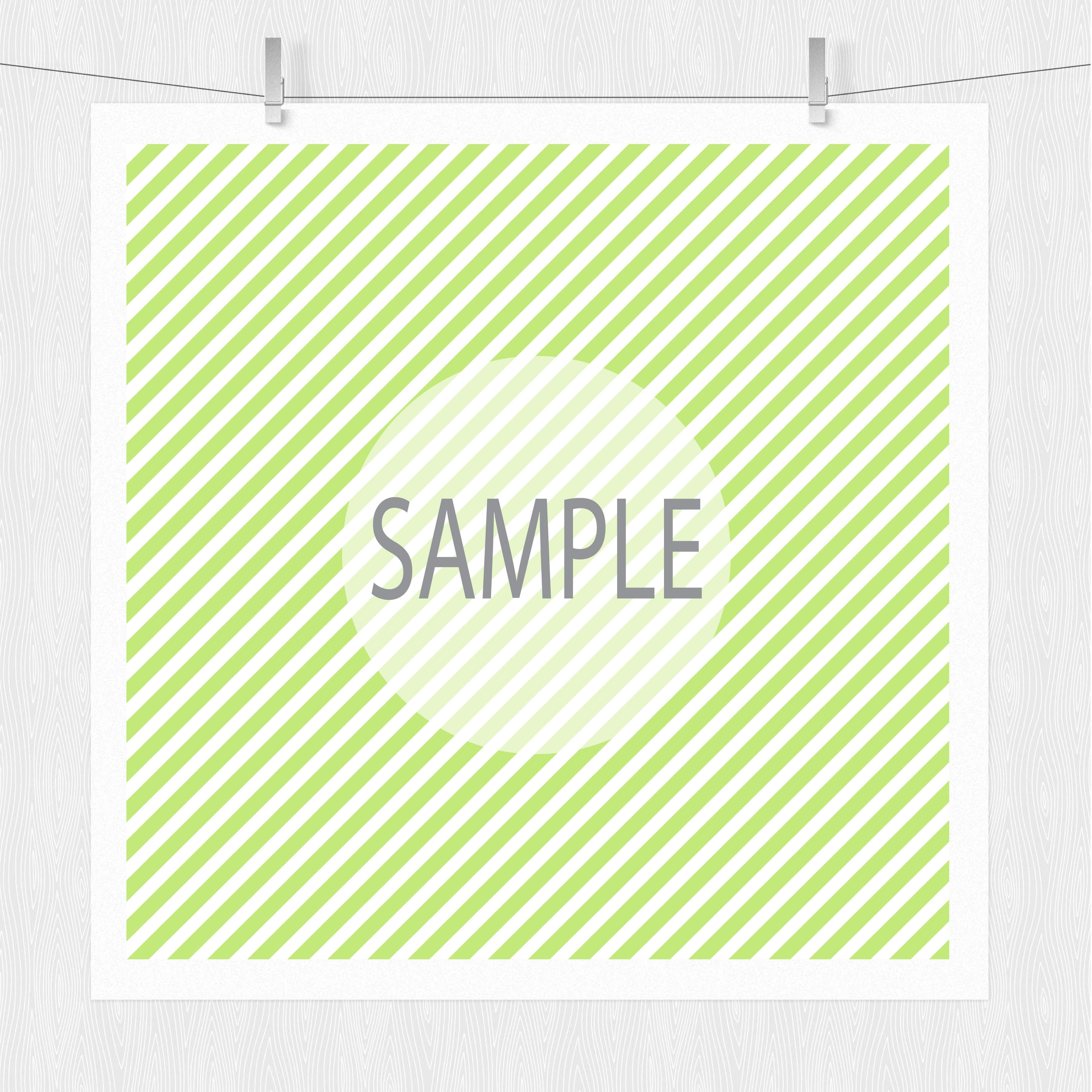 Diagonal Stripe Digital Scrapbook Paper  example image 6