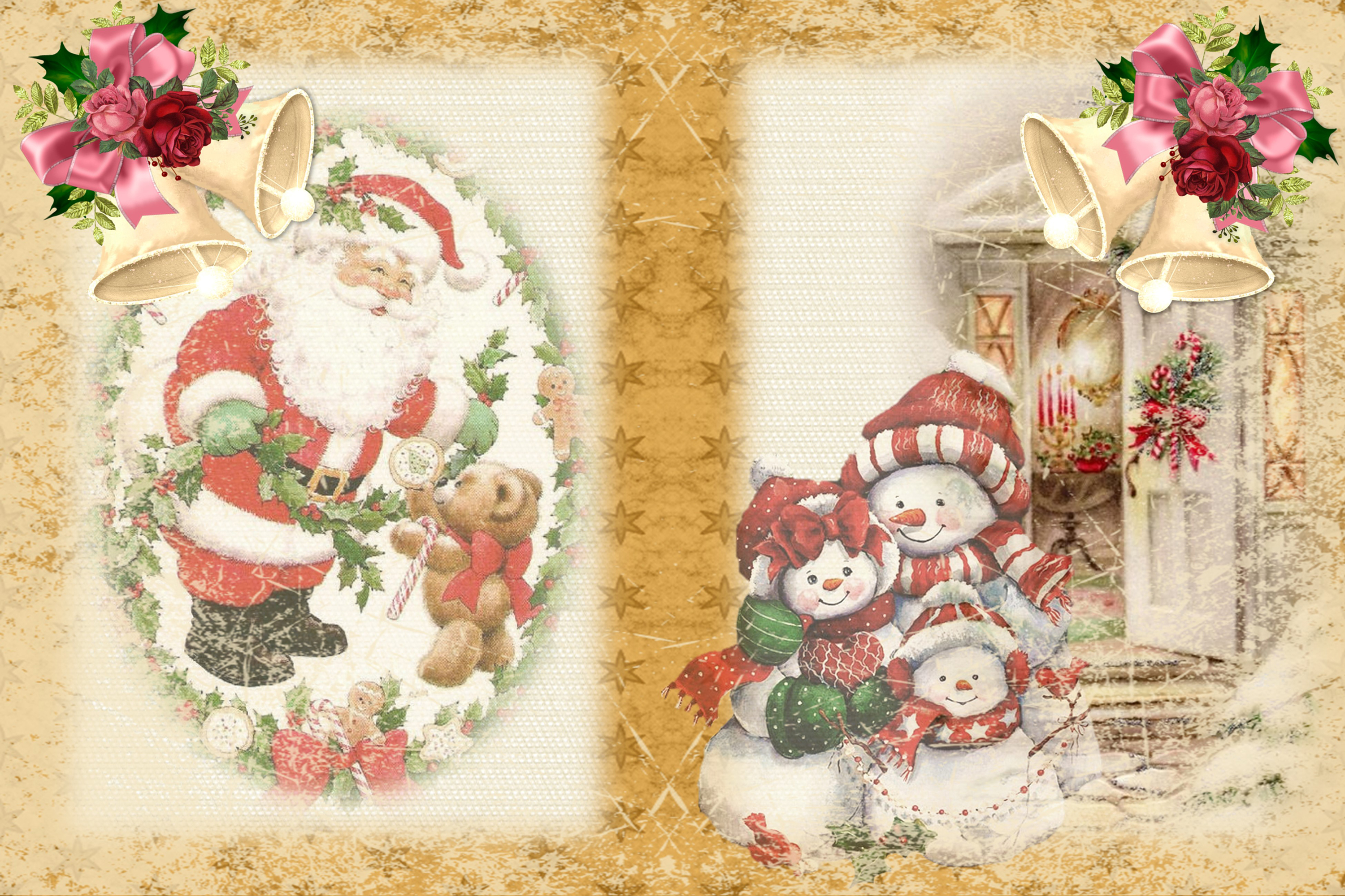 Christmas Fireside Journaling Kit CU with Free clipart example image 6