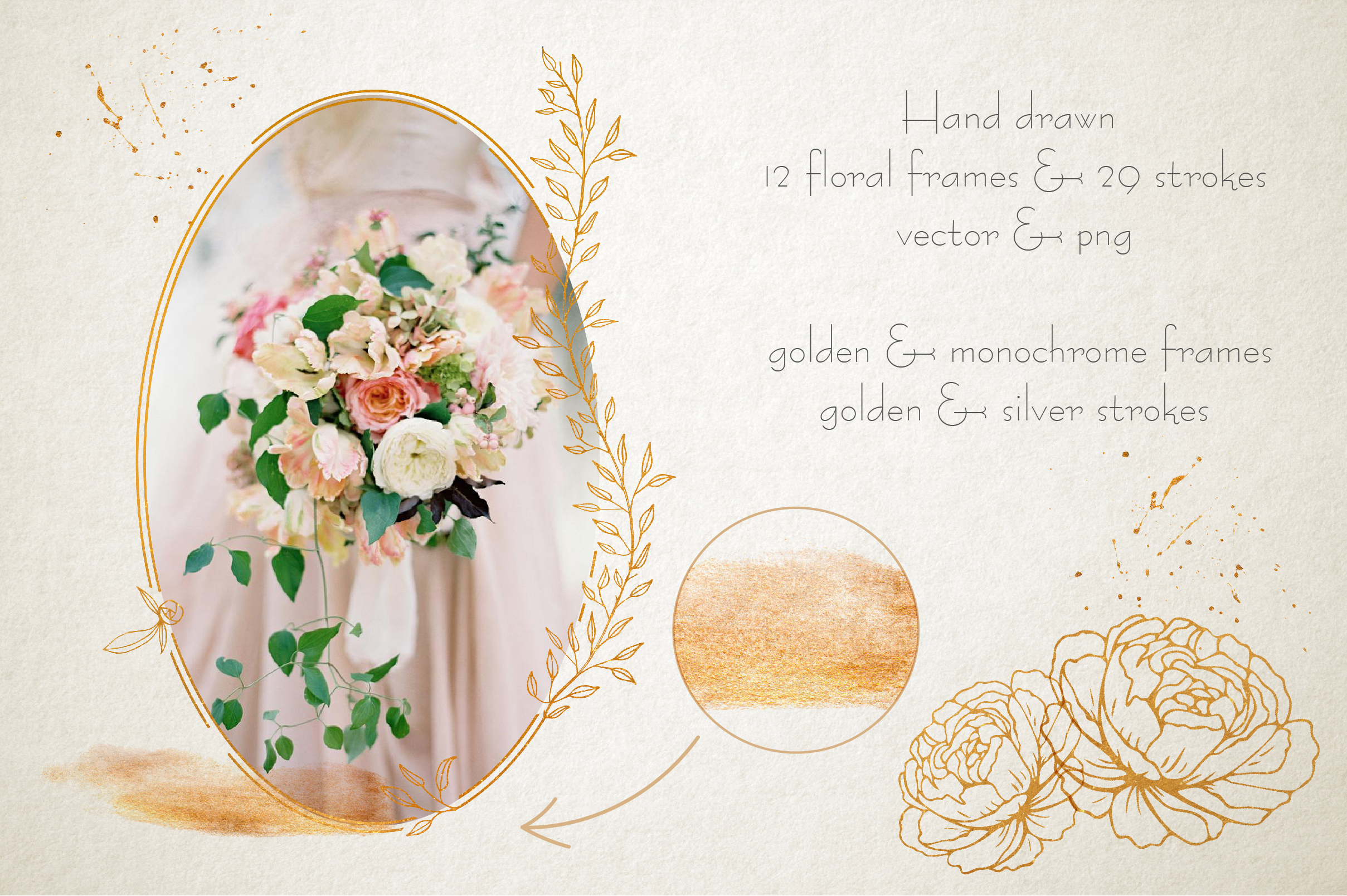 Amelie Floral Display Font example image 10