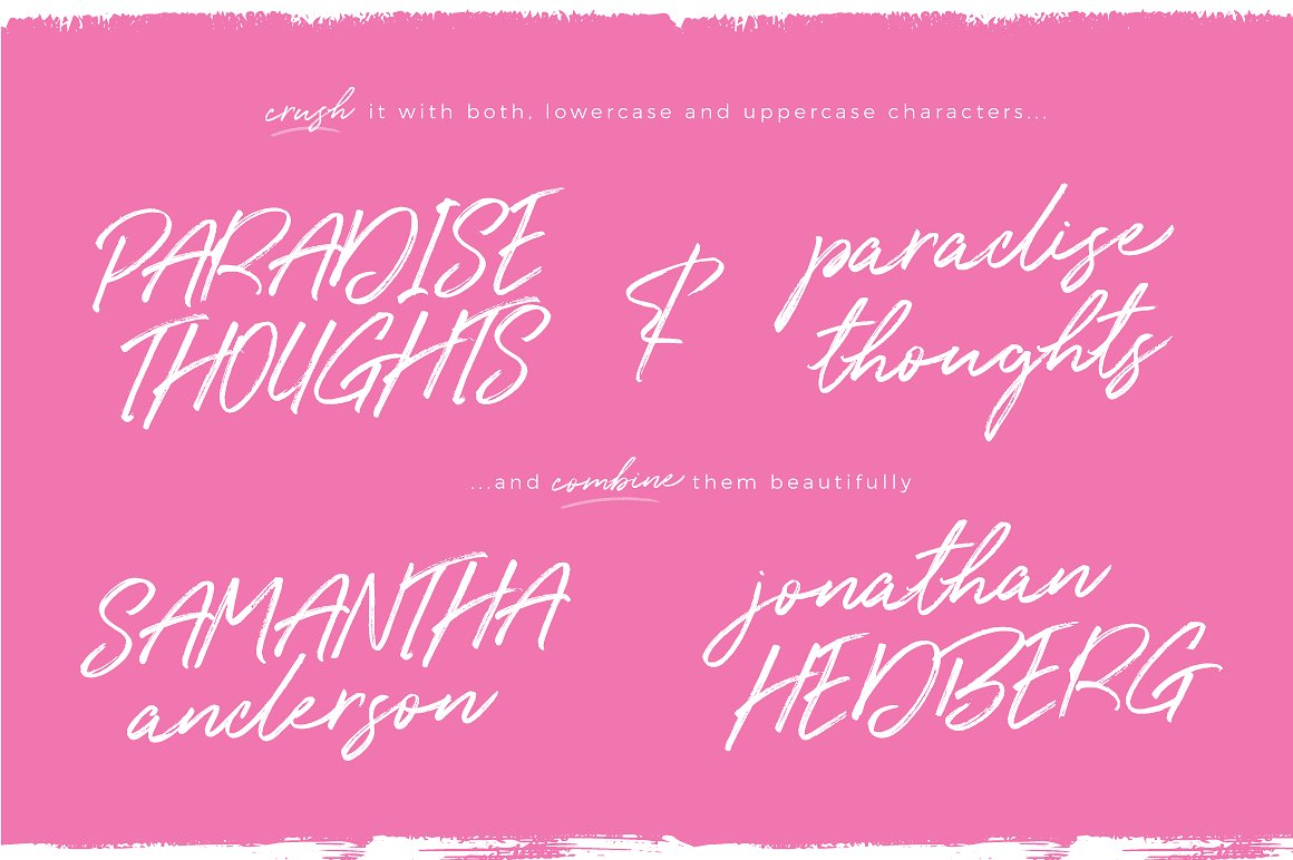 Paradise Thoughts Typeface example image 8