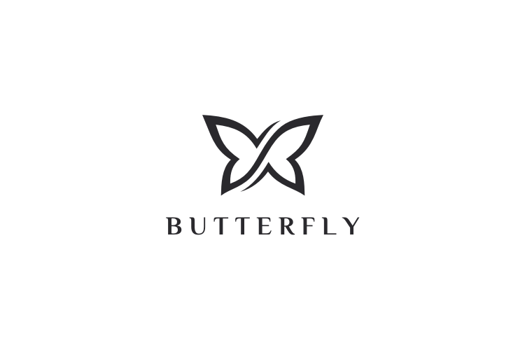 Infinity Butterfly Logo example image 3