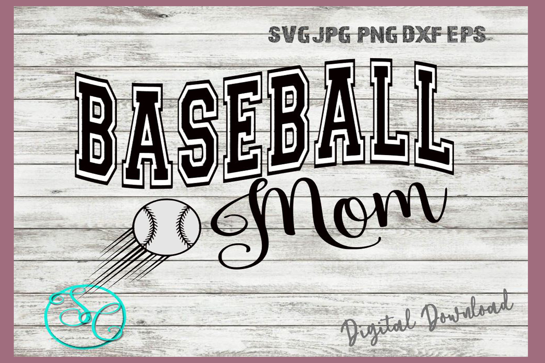 Baseball Mom SVG example image 2