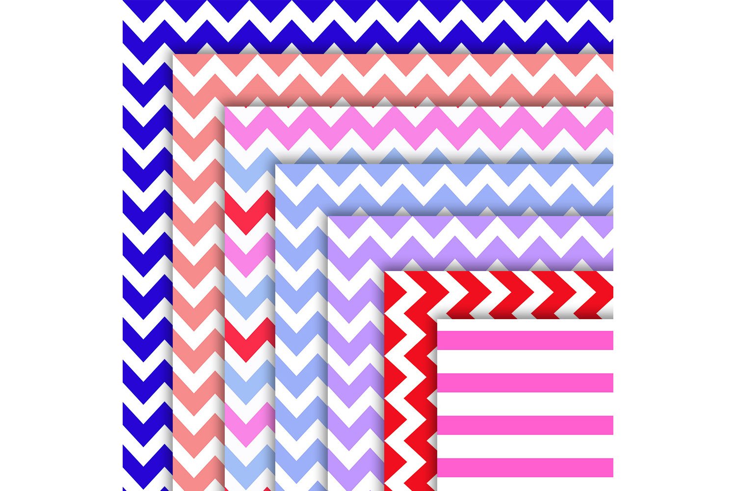 Colorful patterned, Striped Papers, Patterned, BLACK FRIDAY example image 3