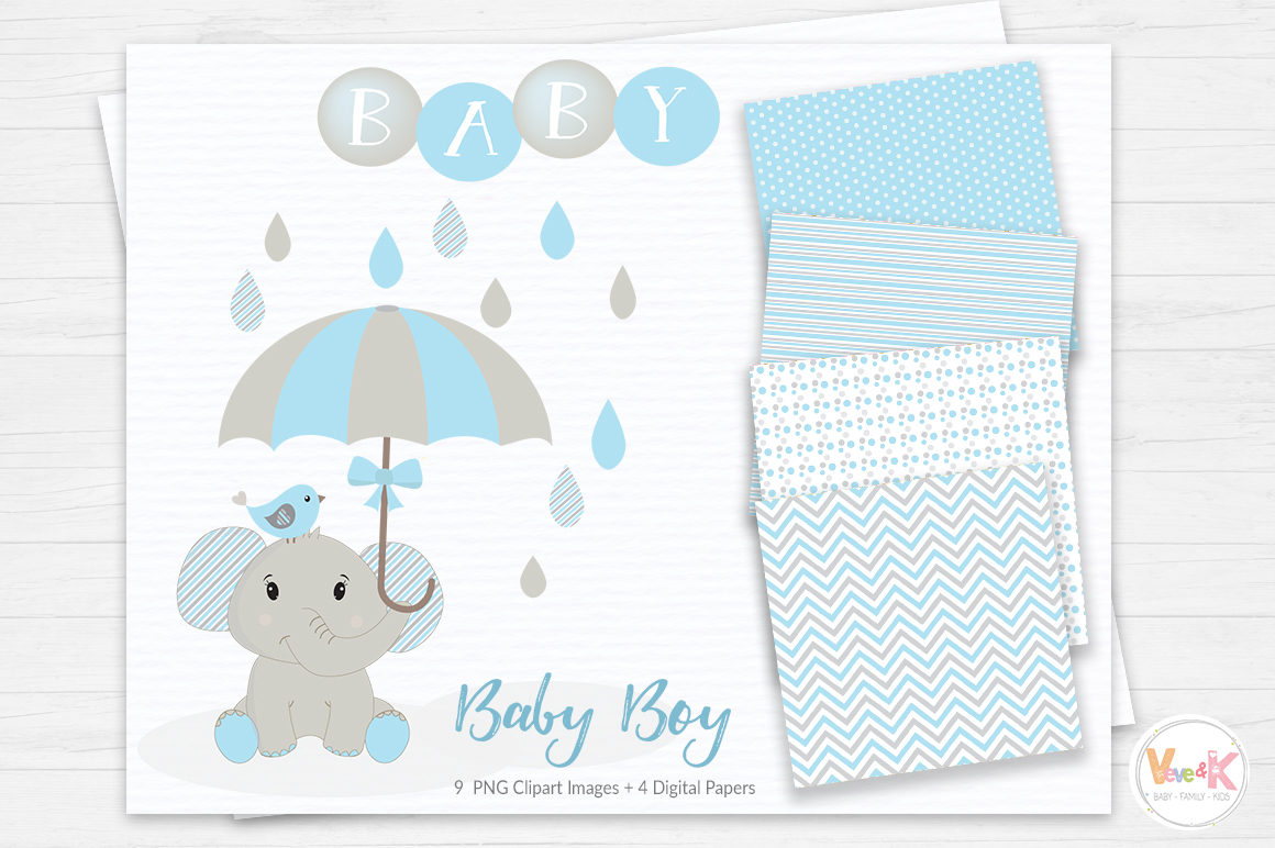 Baby Elephant Clipart Elephant Clipart Baby Clip Art Baby Shower
