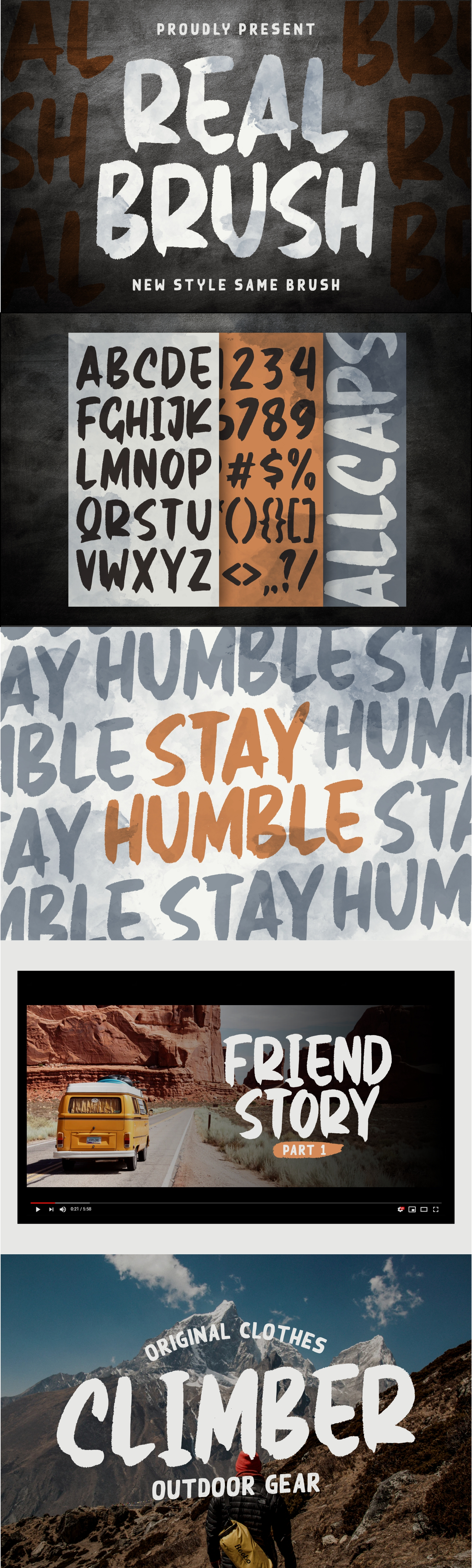 Real Brush Font example image 10