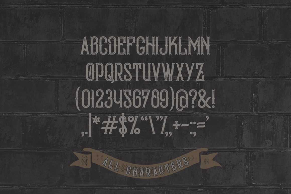 Bald Eagle Typeface example image 4