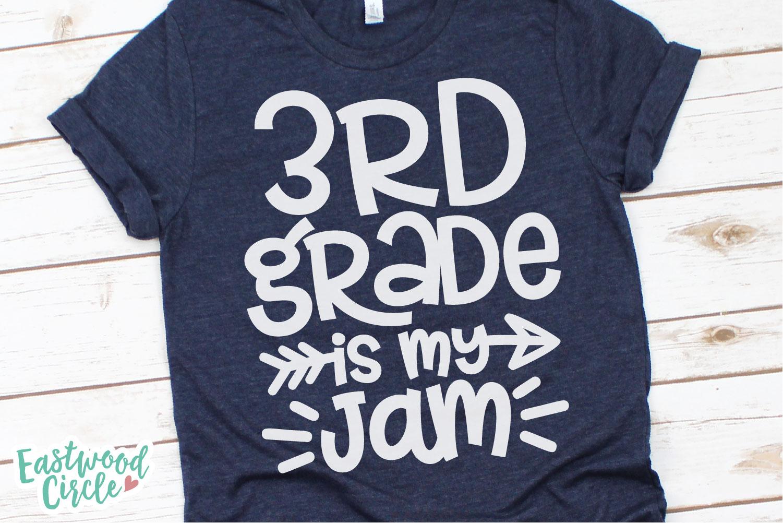 School Is My Jam SVG Bundle - Back to School Cut Files example image 7
