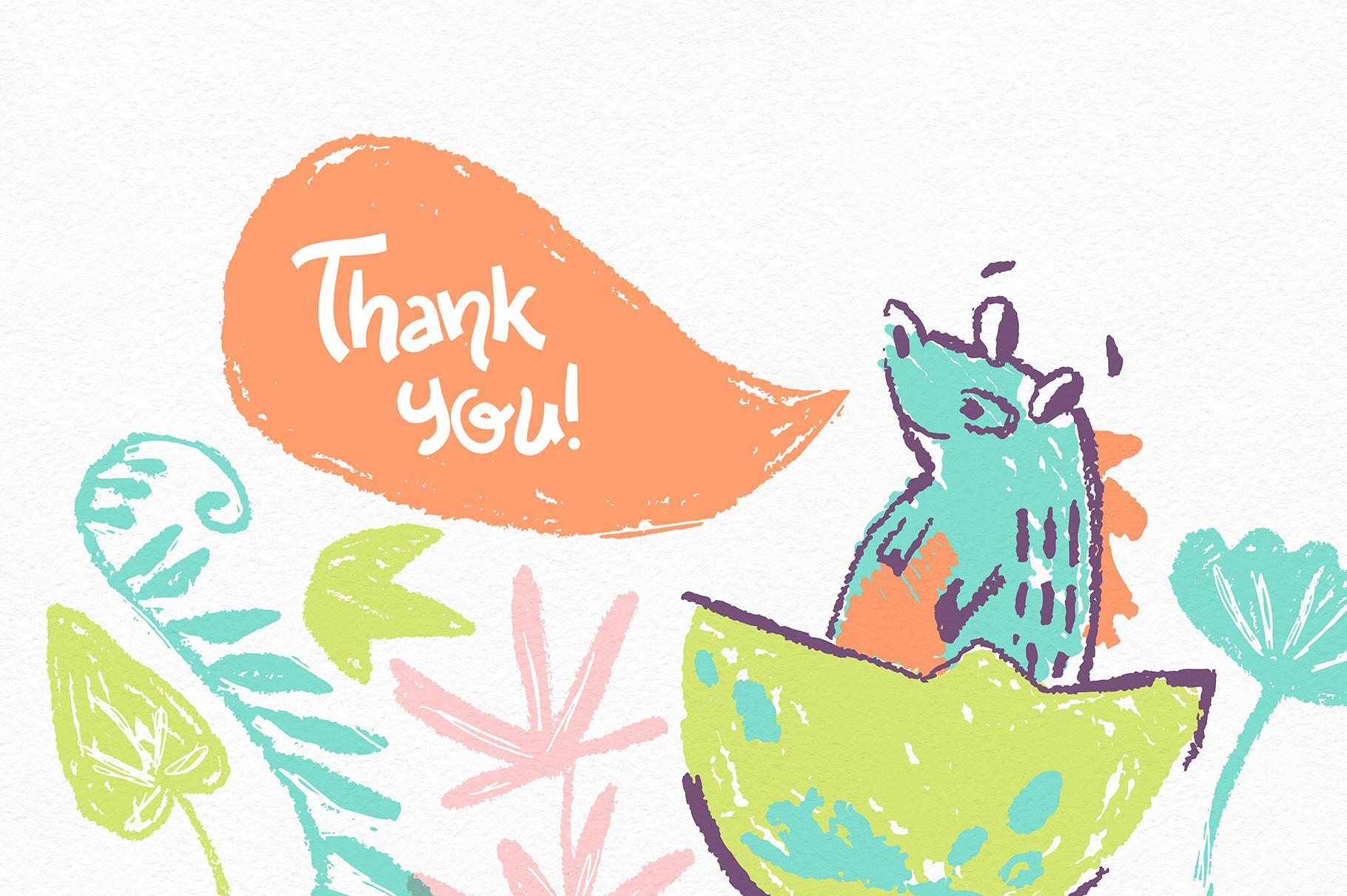 Hi, little DINO! Graphic kit example image 8