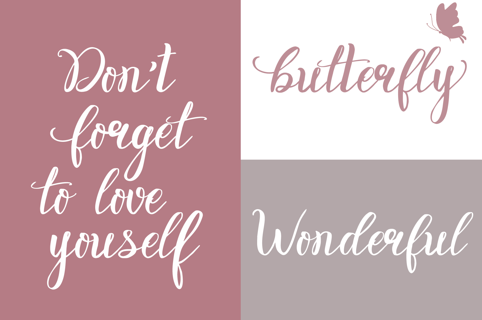 Rosita script - stylish brush font example image 4