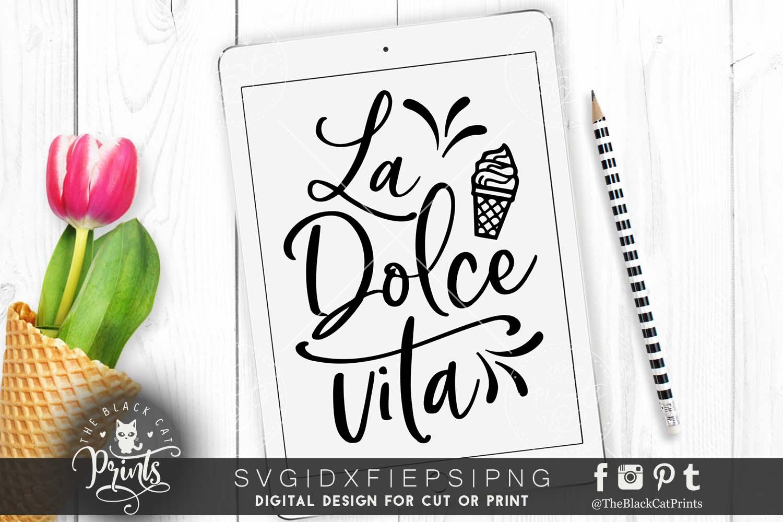 La Dolce Vita SVG DXF PNG EPS example image 1